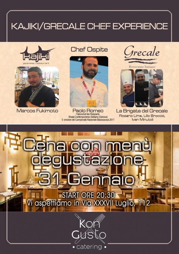 MESSINA. CHEF EXPERIENCE CON PAOLO ROMEO